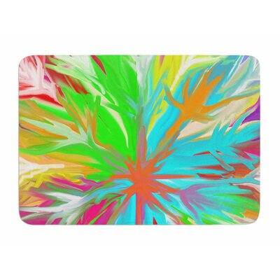 Tropical Paradise by Dan Sekanwagi Memory Foam Bath Mat