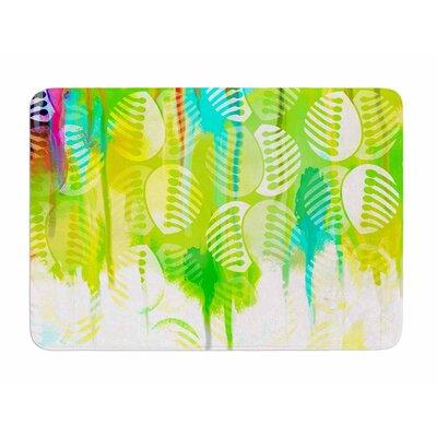 Poddy Combs - Wet Paint by Dan Sekanwagi Memory Foam Bath Mat