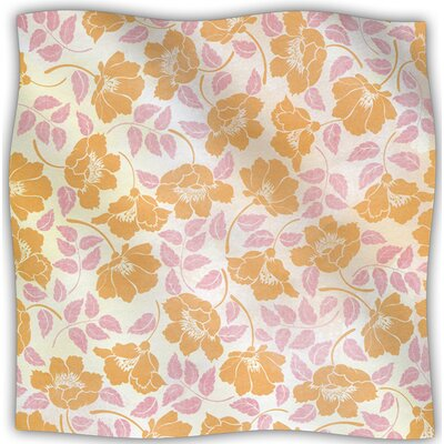 Sun Kissed Petals Fleece Throw Blanket Size: 60 L x 50 W