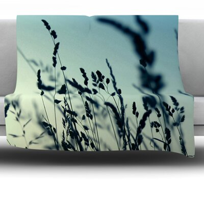 Cool Breeze Fleece Throw Blanket Size: 90 L x 90 W