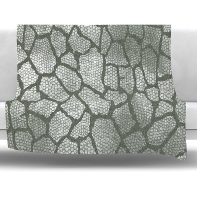 Snake Skin Fleece Throw Blanket Size: 60 L x 50 W