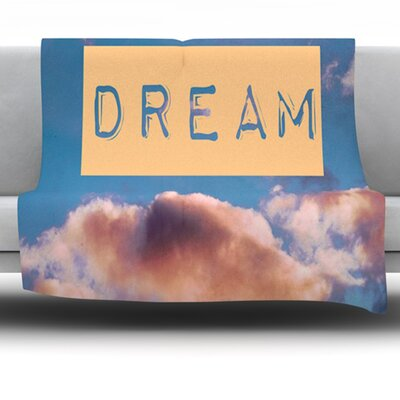 Dream Fleece Throw Blanket Size: 80 L x 60 W