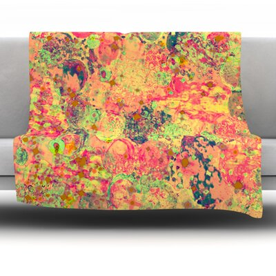 Time for Bubbly Fleece Throw Blanket Size: 60 L x 50 W
