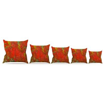 Crimson Forest Throw Pillow Size: 26 H x 26 W x 5 D