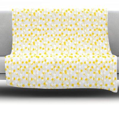 Fleece Throw Blanket Size: 60 L x 50 W