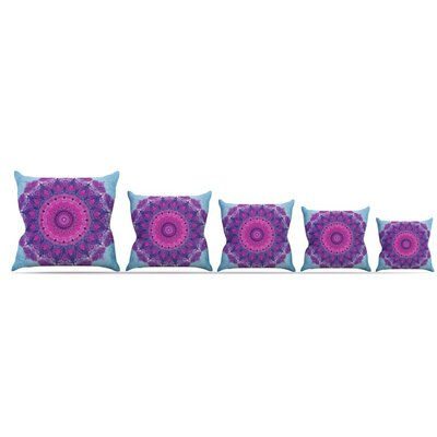 Throw Pillow Size: 26'' H x 26'' W x 5