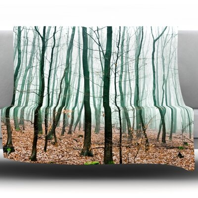 Between Times Fleece Throw Blanket Size: 40 L x 30 W