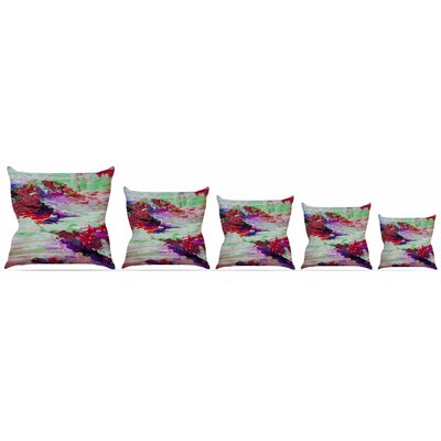 On Cloud Nine - 3 Throw Pillow Size: 16 H x 16 W x 3 D