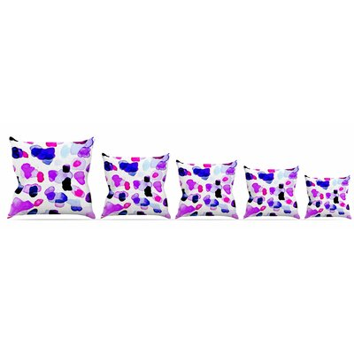 Cool Summer Throw Pillow Size: 18 H x 18 W x 3 D