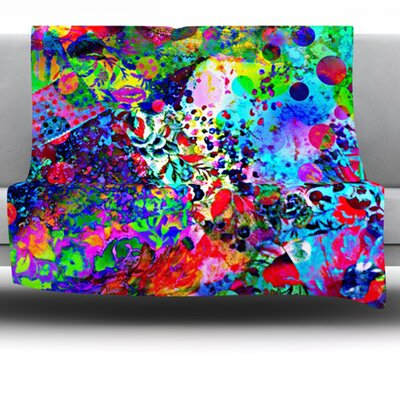 Jungle Fever Fleece Throw Blanket Size: 60 L x 50 W