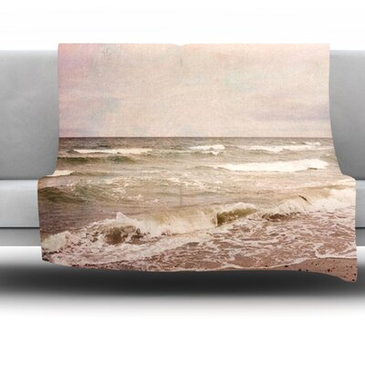 Sea Fleece Throw Blanket Size: 40 L x 30 W