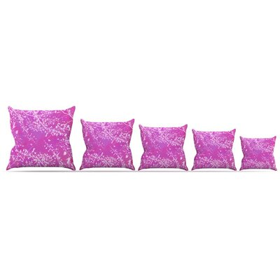 Twigs Silhouette Throw Pillow Size: 18 H x 18 W x 3 D
