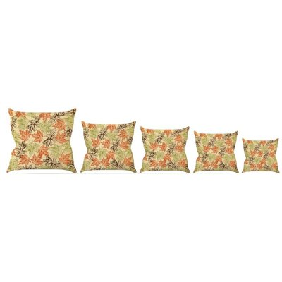 Leaf It to Me Throw Pillow Size: 20 H x 20 W x 4 D