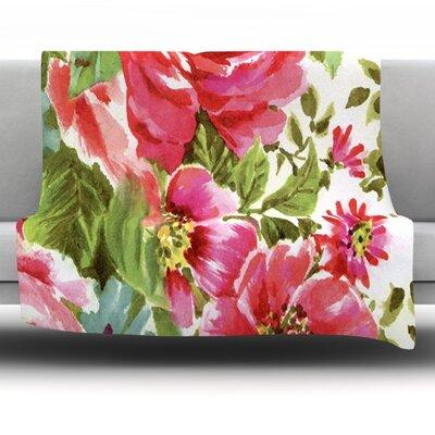 Fleece Throw Blanket Size: 80 L x 60 W