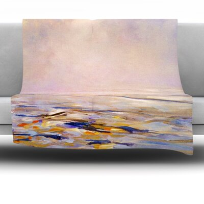 Hazy Sunrise Fleece Throw Blanket Size: 40 L x 30 W