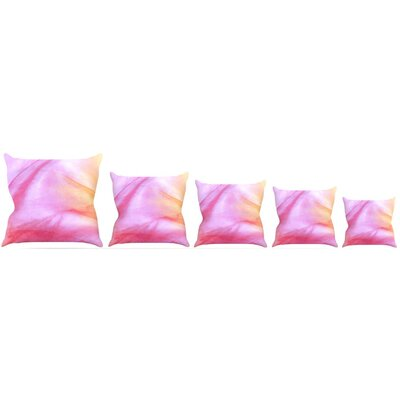 Pastel Haze Throw Pillow Size: 20 H x 20 W x 4 D