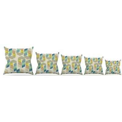 Kobob Chevron Throw Pillow Size: 16 H x 16 W x 3 D