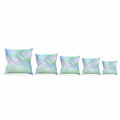 MermaidS Dream by Alison Coxon Throw Pillow Size: 16 x 16