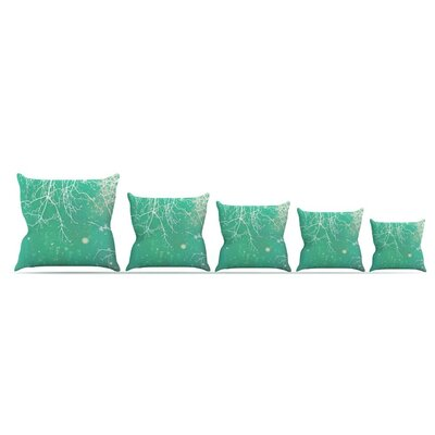 Branches by Alison Coxon Throw Pillow Size: 16 x 16