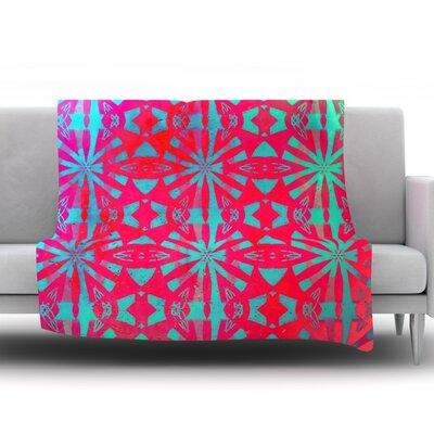 Aloha by Alison Coxon Fleece Throw Blanket Size: 60 L x 50 W
