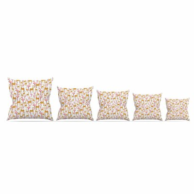 Summer by Alisa Drukman 16 Throw Pillow Size: 18 x 18