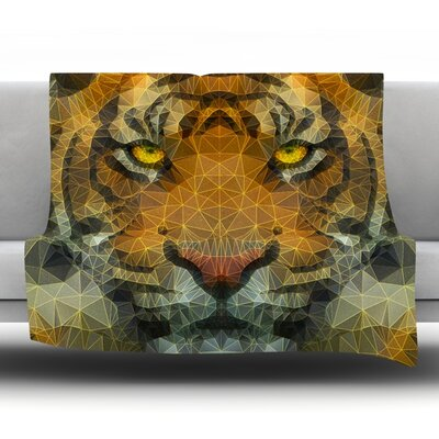 Be Wild by Ancello Fleece Throw Blanket Size: 60 L x 50 W