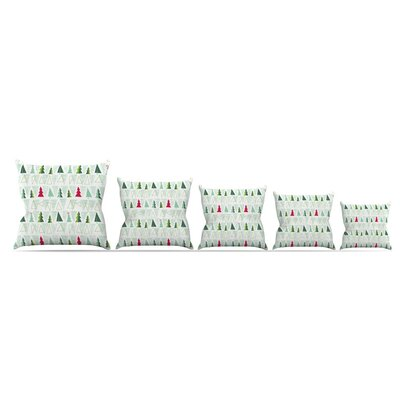 Christmas by Allison Beilke Throw Pillow Size: 18 x 18