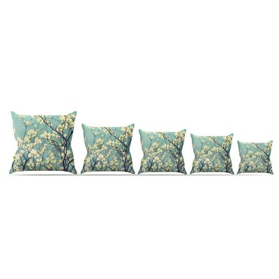 Pure by Ann Barnes Throw Pillow Size: 18