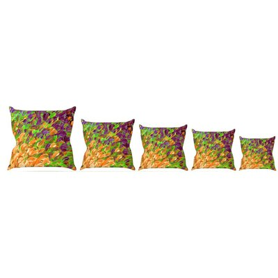 Follow the Current III Throw Pillow Size: 26 H x 26 W x 5 D