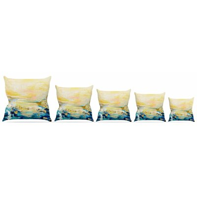 The Reverie Throw Pillow Size: 16 H x 16 W x 3 D