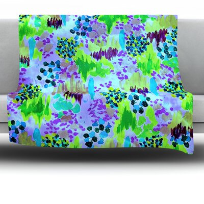 Lagoon Love Fleece Throw Blanket Size: 60 L x 50 W