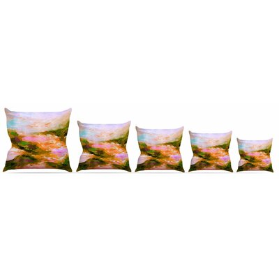Taken by the Undertow 2 Throw Pillow Size: 16 H x 16 W x 3 D