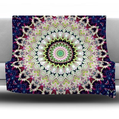 Summer of Folklore Fleece Throw Blanket Size: 80 L x 60 W