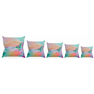Something About the Sea 4 Throw Pillow Size: 16 H x 16 W x 3 D