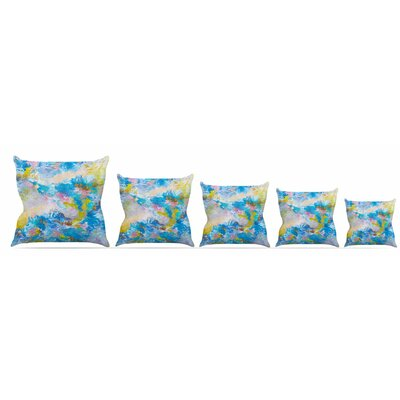When We Were Mermaids Throw Pillow Size: 18 H x 18 W x 3 D