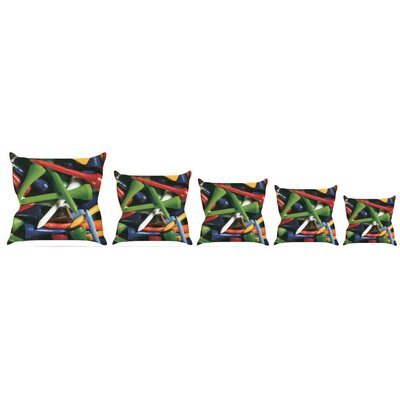 Teed Off Throw Pillow Size: 16 H x 16 W x 3 D