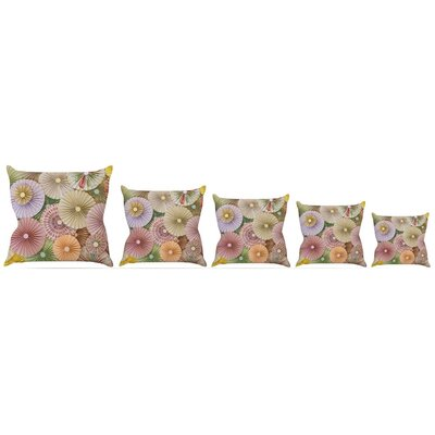 Spring Throw Pillow Size: 18 H x 18 W x 3 D
