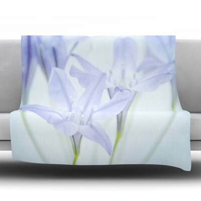 Triplet Lily Fleece Throw Blanket Size: 80 L x 60 W