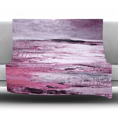 Sea Fleece Throw Blanket Size: 80 L x 60 W