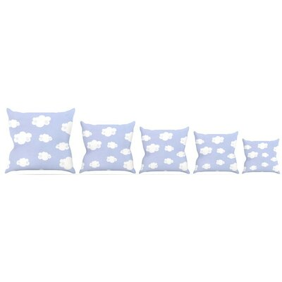 Clouds Throw Pillow Size: 26 H x 26 W x 5 D