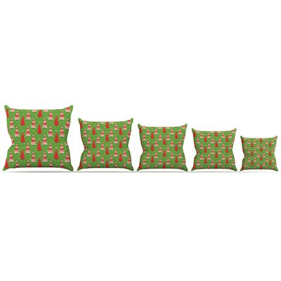 Juniper Throw Pillow Size: 18 H x 18 W x 3 D