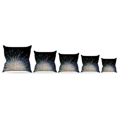 Firework Throw Pillow Size: 18 H x 18 W x 3 D