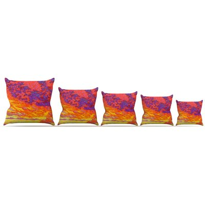 View From the Foothills Throw Pillow Size: 16 H x 16 W x 3 D