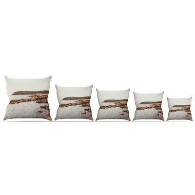 The Maine Coast Throw Pillow Size: 16 H x 16 W x 3 D