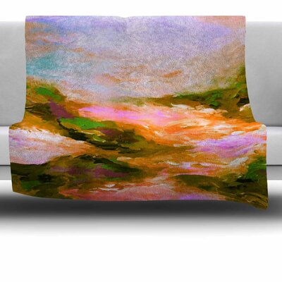 Taken by the Undertow 2 Fleece Throw Blanket Size: 80 L x 60 W