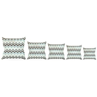 Chevron Throw Pillow Size: 18 H x 18 W x 3 D