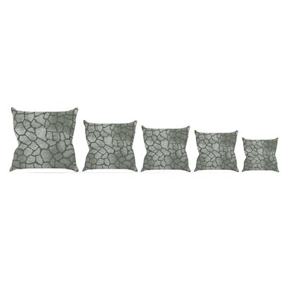 Snake Skin Throw Pillow Size: 16 H x 16 W x 3 D