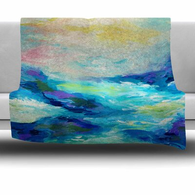 Taken by the Undertow Fleece Throw Blanket Size: 40 L x 30 W