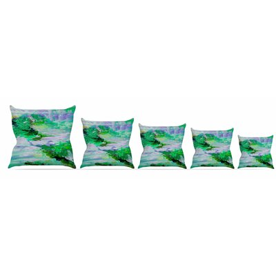 On Cloud Nine - 6 Throw Pillow Size: 16'' H x 16'' W x 3