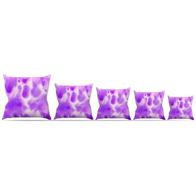 Watercolor Throw Pillow Size: 16 H x 16 W x 3 D